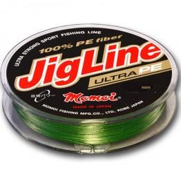 Леска плетеная Momoi JigLine Ultra PE 100м (Зеленый)